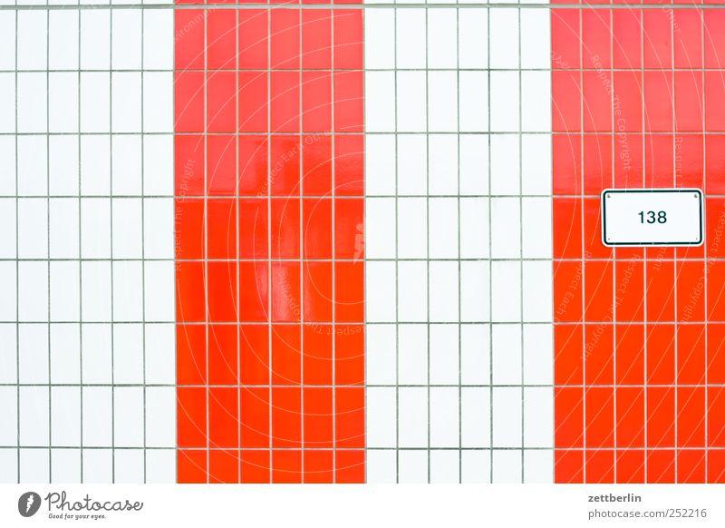 138 Sommer Haus Wand Freiheit Mauer hell Feld Schilder & Markierungen Ziffern & Zahlen Schwimmbad Textfreiraum Fliesen u. Kacheln Flughafen Fuge Europa