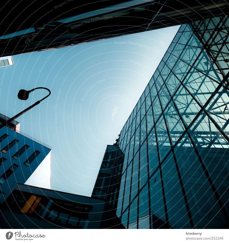 glashaus Stadt Haus Wand Fenster Architektur Stil Mauer Gebäude Glas Fassade Design Hochhaus modern Baustelle Dach