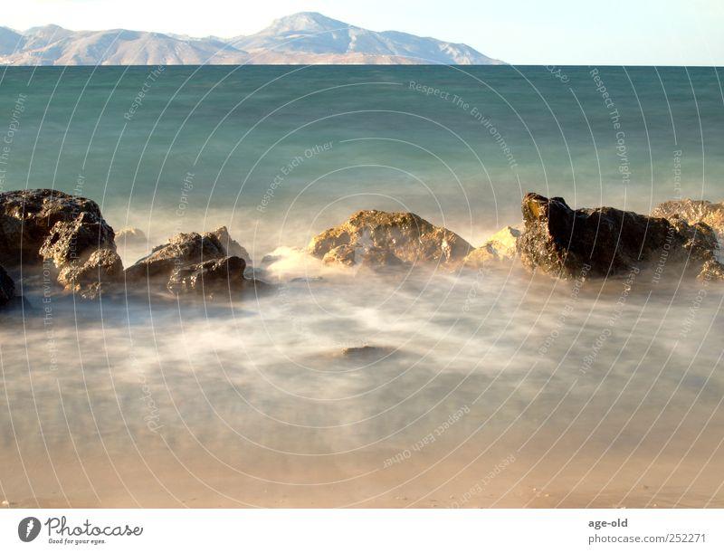 Insel der Seligen Natur Wasser Sommer Strand Meer Einsamkeit Erholung Freiheit Sand Luft träumen Wellen Zufriedenheit Insel Lebensfreude Ägäis