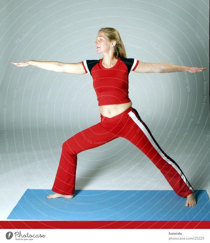 Yoga Asana Frau