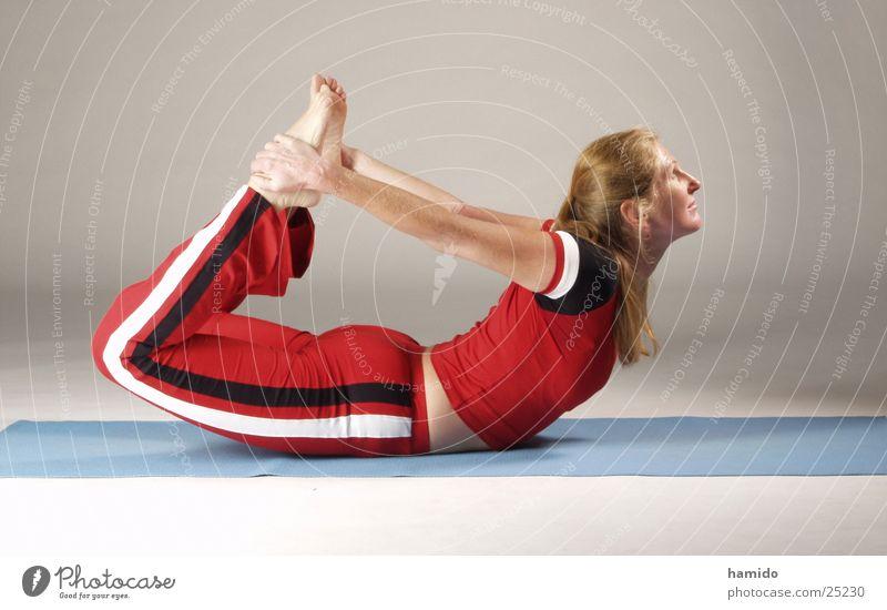 Yoga 3 Frau Fitness