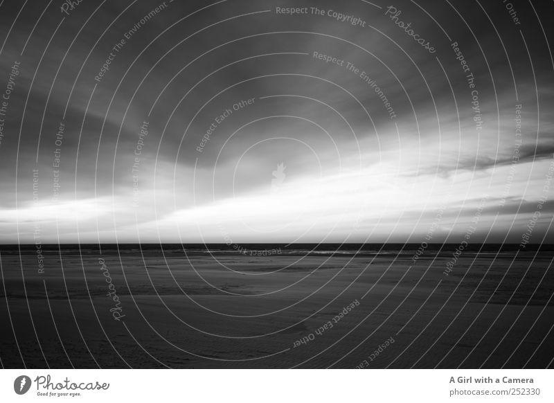 Spiekeroog I vast Himmel Natur Wolken Ferne kalt dunkel Umwelt Landschaft Sand Küste frisch groß wild natürlich außergewöhnlich Unendlichkeit