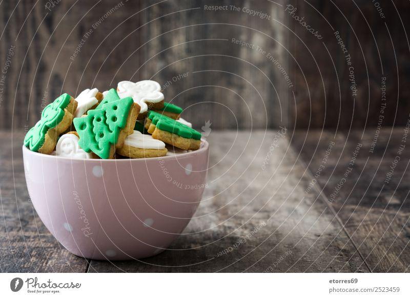 Weihnachtskekse Lebensmittel Dessert Gesunde Ernährung Ferien & Urlaub & Reisen Winter Dekoration & Verzierung Tisch Feste & Feiern Weihnachten & Advent Baum