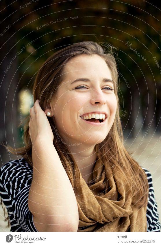 Ansteckungsgefahr :) feminin Junge Frau Jugendliche 1 Mensch 18-30 Jahre Erwachsene Freundlichkeit Fröhlichkeit Glück schön lachen sympathisch Zufriedenheit