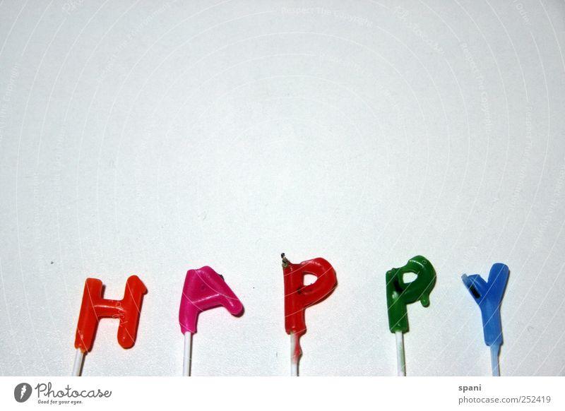 ...Birthday Schriftzeichen Feste & Feiern Party Jubiläum Buchstaben Kerze Happy Birthday mehrfarbig Blitzlichtaufnahme Starke Tiefenschärfe