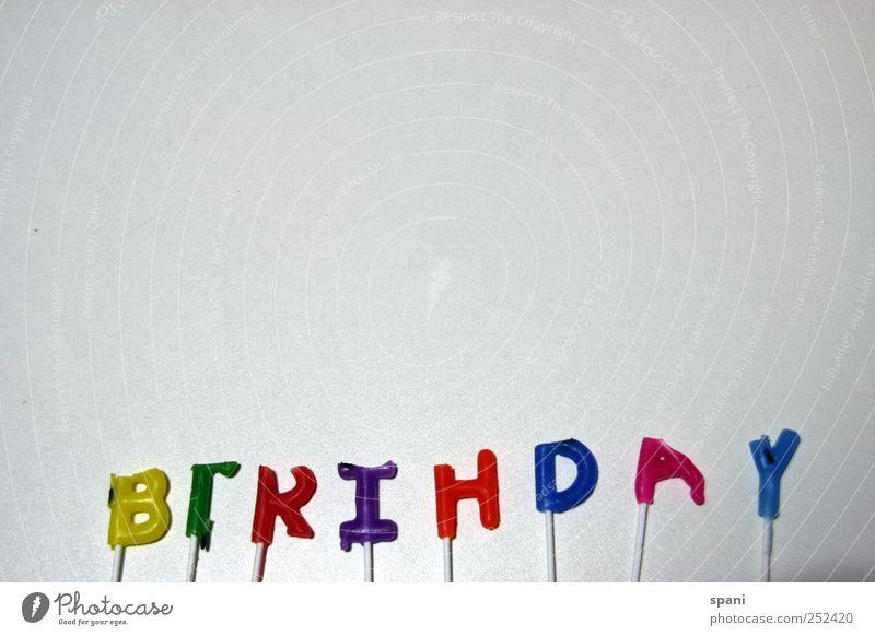 happy... Freude Geburtstag Schriftzeichen Kerze Zeichen Glückwünsche Happy Birthday