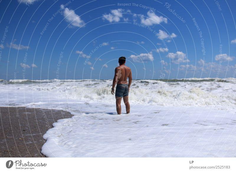 ich und das Meer Lifestyle Körper Wellness Leben harmonisch Wohlgefühl Zufriedenheit Sinnesorgane Erholung ruhig Meditation Schwimmen & Baden Sommerurlaub