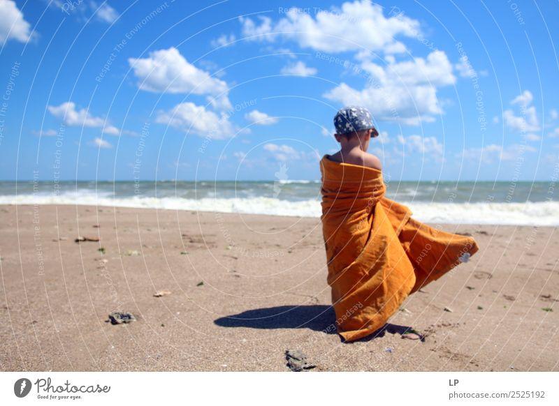 Kind Mensch Ferien & Urlaub & Reisen Jugendliche Sonne Meer Erholung ruhig Freude Strand Lifestyle Erwachsene Leben Gefühle Familie & Verwandtschaft Freiheit