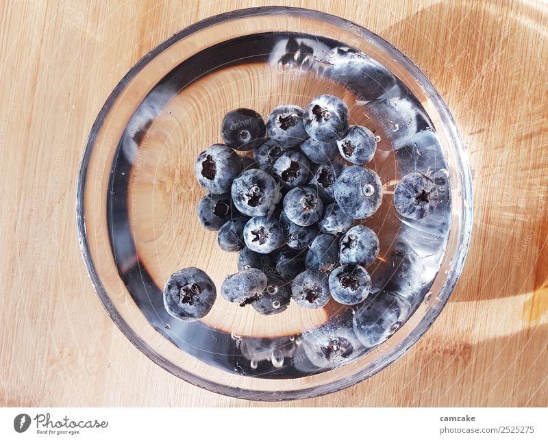 blueberry Frucht Frühstück Bioprodukte Vegetarische Ernährung Slowfood Kunst Wasser Sonne Sommer Blaubeere Schalen & Schüsseln Glas Fitness ästhetisch