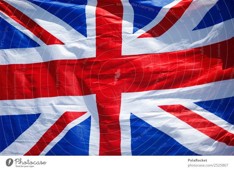 #A# best flag Kunst ästhetisch Sprache Fremdsprache Briten Fahne Brexit Großbritannien Union Jack rot blau weiß Kreuz Symbole & Metaphern Macht Farbfoto