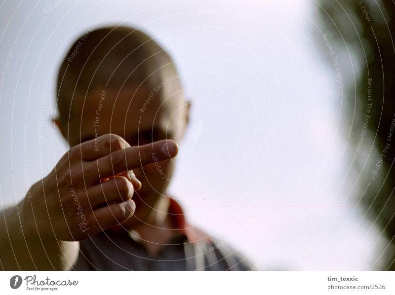 _mittelfinger Hand Mittelfinger Fototechnik