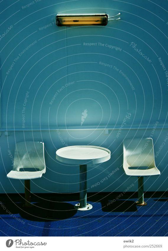 Fähr Trade blau weiß Ferien & Urlaub & Reisen schwarz Ferne Erholung Lampe hell elegant sitzen Ausflug Tourismus Tisch Pause retro Stuhl