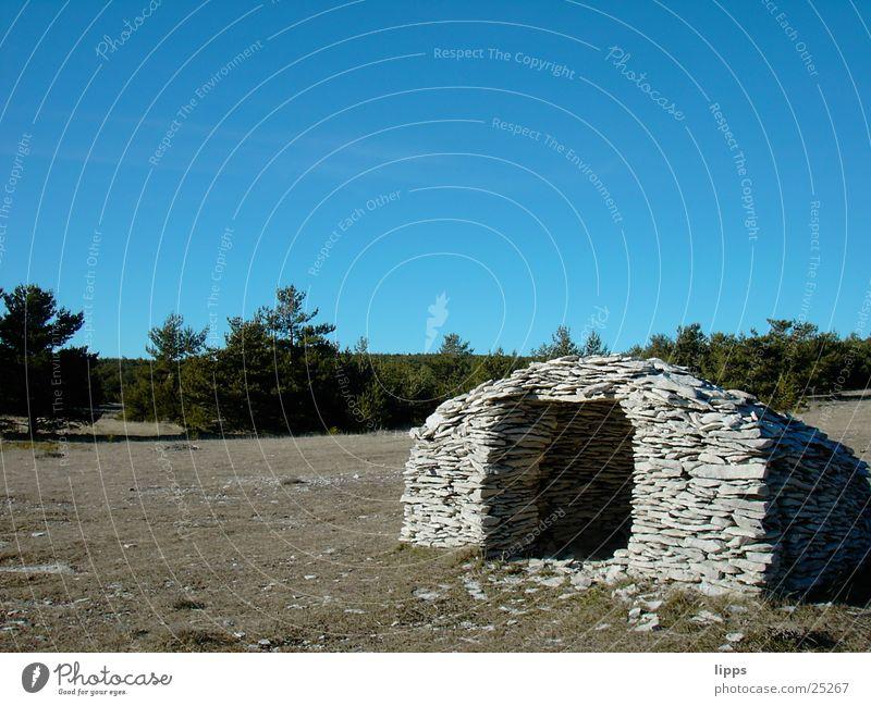Steinhütte Provence Architektur Boris Hütte