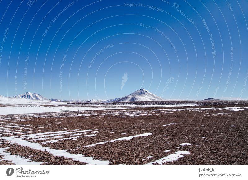 Bolivian Landscape Himmel Natur Ferien & Urlaub & Reisen Landschaft Einsamkeit Winter Ferne Berge u. Gebirge Umwelt kalt Schnee Tourismus Erde wandern Abenteuer