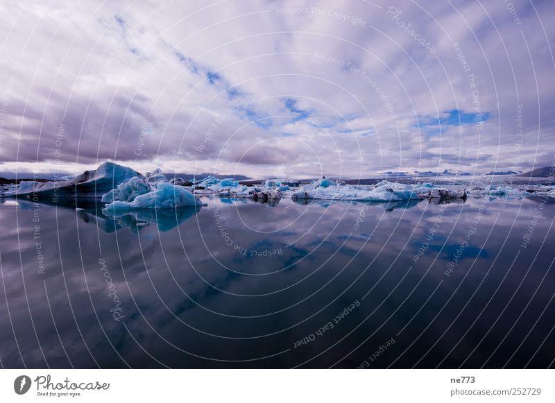 Dem Himmel so nah blau Ferien & Urlaub & Reisen ruhig Einsamkeit Erholung Freiheit Eis elegant Insel Klima Coolness einzigartig Frost Frieden Gelassenheit