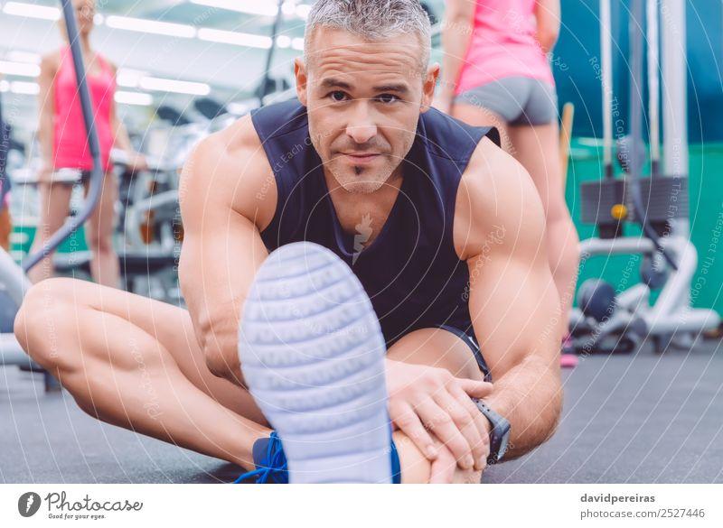 Frau Mensch Mann schön Lifestyle Erwachsene Sport Glück Menschengruppe Freizeit & Hobby Körper Lächeln Fröhlichkeit Aktion authentisch Fitness
