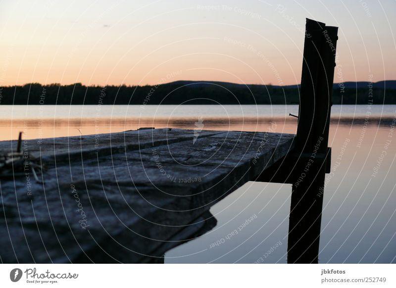 Bras d`Or Lake, Nova Scotia Himmel Natur Wasser Einsamkeit ruhig Erholung Landschaft Berge u. Gebirge Küste See Stimmung Horizont Freizeit & Hobby Schwimmen & Baden wandern Abenteuer