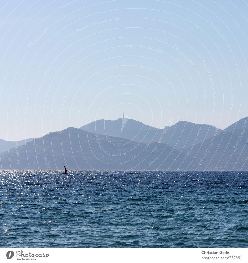 Cote Himmel Natur Wasser blau Sonne Ferien & Urlaub & Reisen Sommer Strand Meer Ferne Freiheit Umwelt Landschaft Luft Küste See