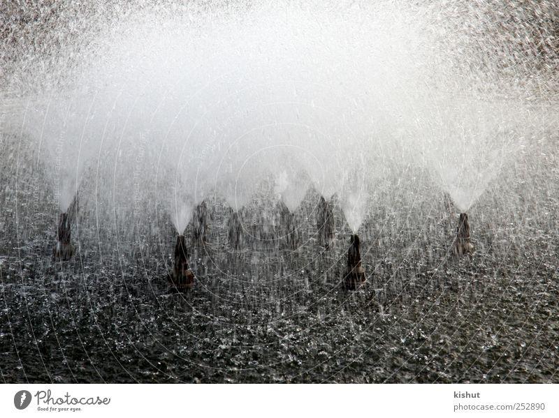 Wasser Kunst nass Design Energie natürlich Perspektive Urelemente rein Erfrischung Durst abstrakt