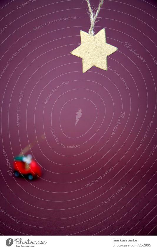 Stern Weihnachtsdeko Weihnachten & Advent rot Gefühle Stimmung Feste & Feiern gold Wohnung Innenarchitektur Hoffnung Stern (Symbol) leuchten