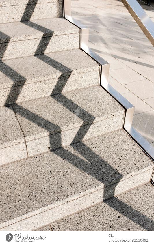 treppengeländer Wege & Pfade Linie Treppe ästhetisch Kreativität Schönes Wetter Treppengeländer Inspiration Verkehrswege eckig aufwärts diagonal abwärts