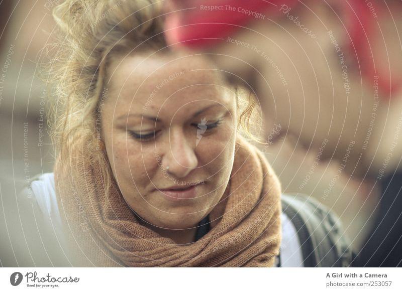 Chamansülz I gemeinsam Mensch Jugendliche schön feminin Leben Kopf Erwachsene Glück Zusammensein Coolness einzigartig beobachten Freundlichkeit Lächeln entdecken
