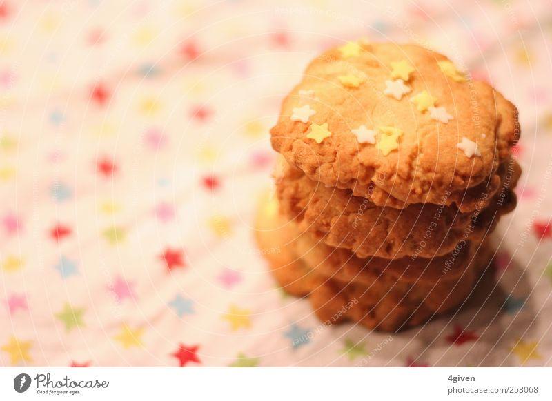 Sugar Cookies Teigwaren Backwaren Kuchen Süßwaren Schokolade Ernährung Kaffeetrinken Picknick Freude Feste & Feiern Feierabend Stern Duft Fressen authentisch