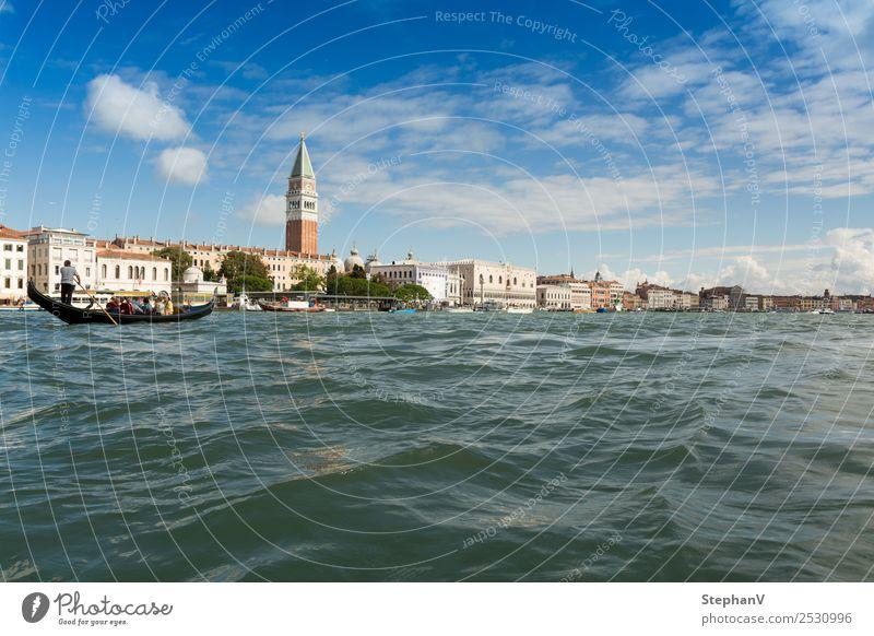 San Marco, Venedig Ferien & Urlaub & Reisen Tourismus Ausflug Ferne Sightseeing Städtereise Sommer Sommerurlaub Meer Architektur Landschaft Schönes Wetter