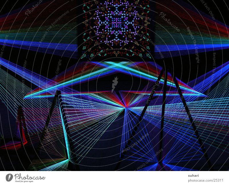 schwarzlicht I Schwarzlicht Laser Potsdamer Platz abstrakt Ausstellung Messe schwarzlichtausstellung Berlin Farbe