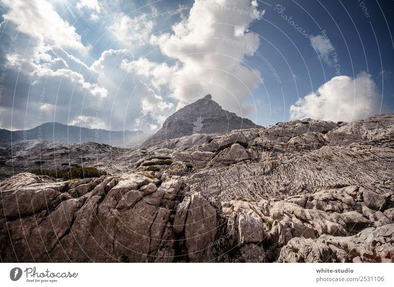 Bergspitze Berge u. Gebirge Felsen wandern Gipfel Hügel Alpen Bergsteigen Berghang Bergkuppe Berchtesgadener Alpen Steinernes Meer