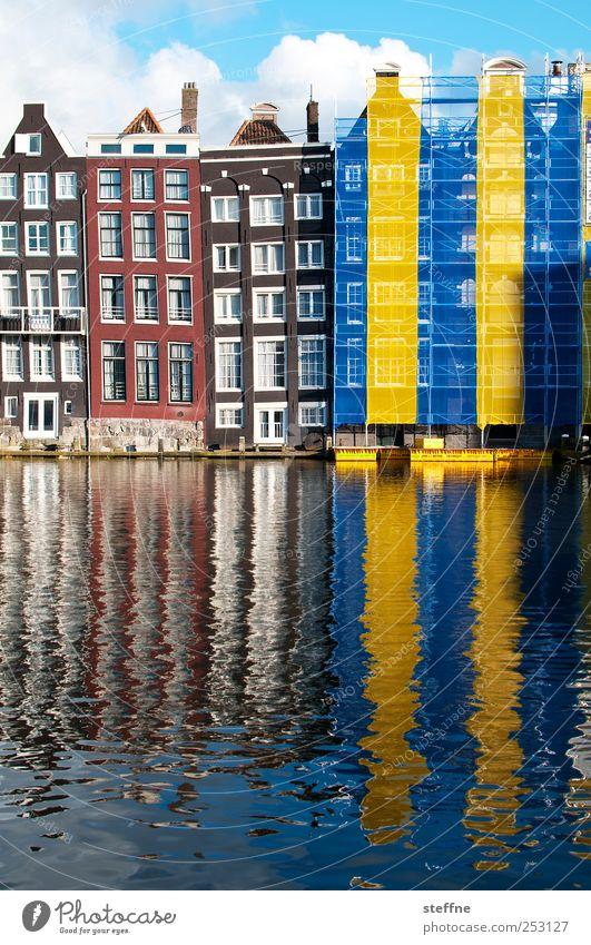 Eintracht Braunschweig Himmel Wasser schön Haus Wand Fenster Mauer Tourismus historisch Schönes Wetter Stadtzentrum Hauptstadt Niederlande Altstadt Amsterdam