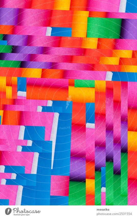 colourful paper texture - background design Stadt weiß rot lustig Glück Stil Kunst Feste & Feiern Mode Party Design Dekoration & Verzierung Fröhlichkeit