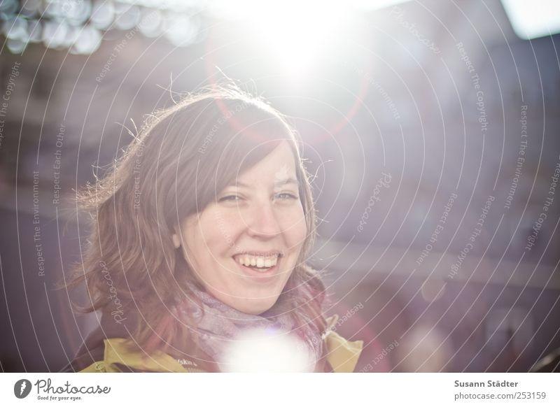 B@DD 11 | good times Mensch schön Sonne Freude Gesicht feminin kalt Herbst Kopf Haare & Frisuren Glück lachen Kraft Fröhlichkeit Warmherzigkeit Lächeln