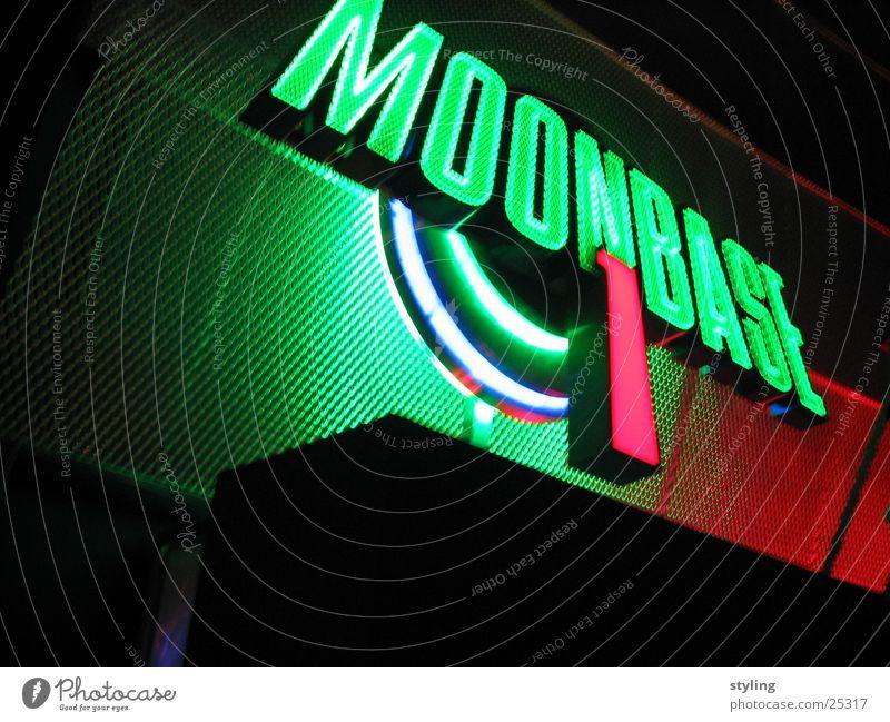 Moonbase I grün rot Technik & Technologie Weltall Elektrisches Gerät