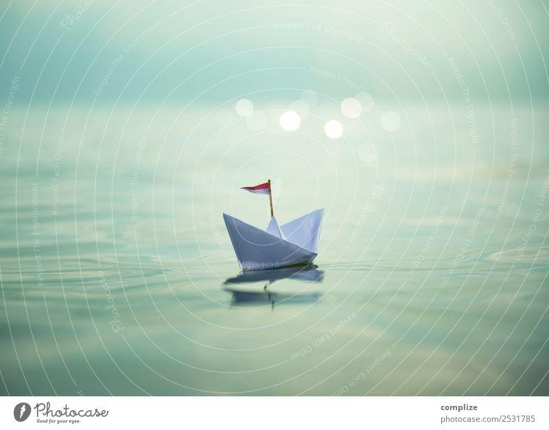 Sail away with me | Paper Boat Wellness harmonisch Wohlgefühl Erholung Spa Schwimmen & Baden Ferien & Urlaub & Reisen Freiheit Sommer Sommerurlaub Sonne Strand