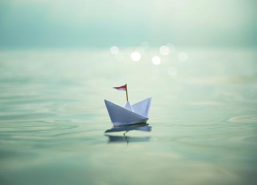 Sail away with me   Paper Boat Wellness harmonisch Wohlgefühl Erholung Spa Schwimmen & Baden Ferien & Urlaub & Reisen Freiheit Sommer Sommerurlaub Sonne Strand