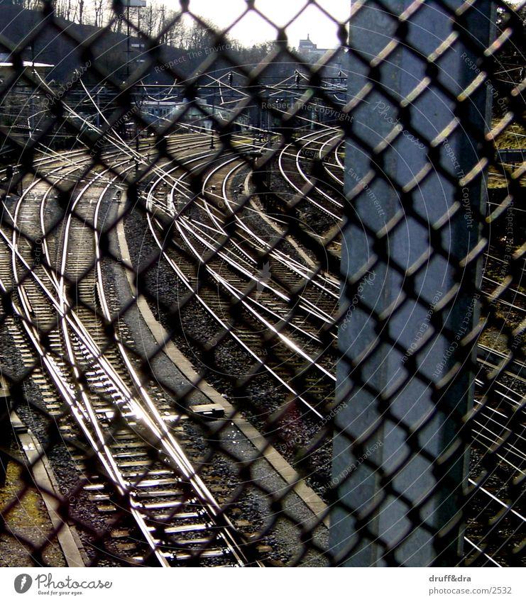 Gleis Gitter Gleise Dinge Eisenbahn
