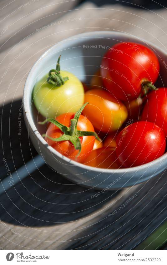 Tomatentraum Lebensmittel Gemüse Ernährung Abendessen Bioprodukte Vegetarische Ernährung Wachstum rot lecker kochen & garen Zutaten Sommer Ernte reif Farbfoto