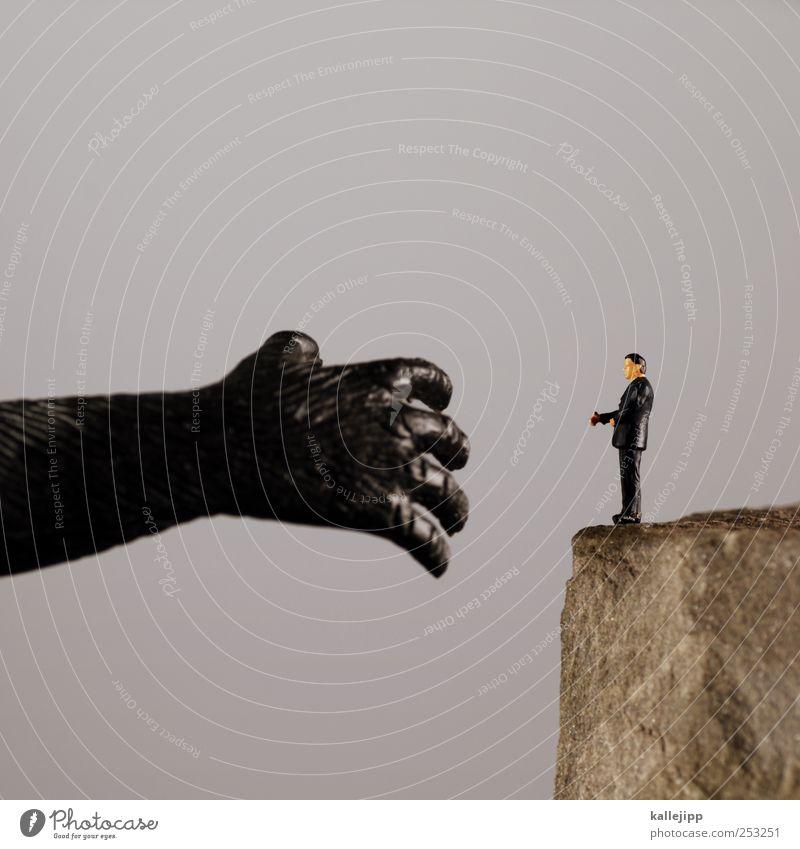 streichelzoo Mensch Tier Arbeit & Erwerbstätigkeit Business maskulin Erfolg Finger berühren Industrie Fell Beruf Geldinstitut Sitzung Anzug Handel Wirtschaft