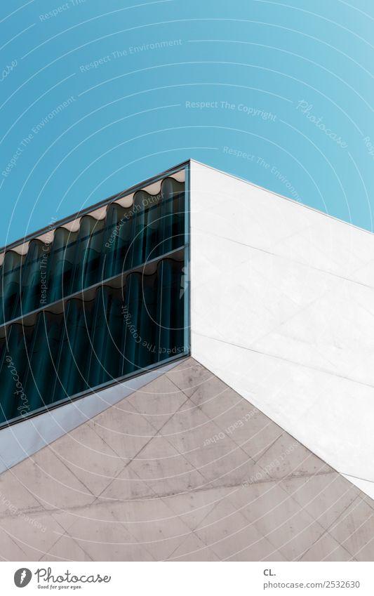 casa da música Ferien & Urlaub & Reisen Tourismus Städtereise Sommerurlaub Architektur Wolkenloser Himmel Schönes Wetter Porto Portugal Stadt Bauwerk Gebäude