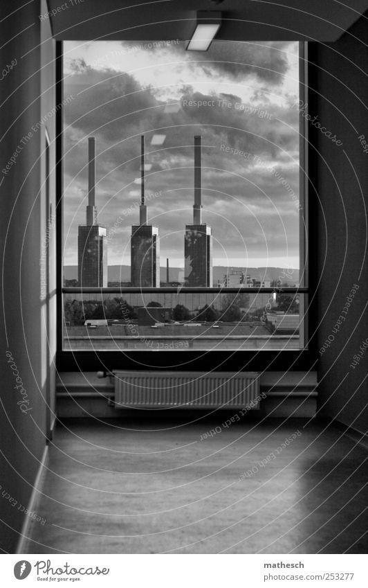 3 brüder weiß Haus schwarz Wand Fenster Mauer Energiewirtschaft Bodenbelag Wahrzeichen Schornstein Heizkörper heizen Industrieanlage Hannover Heizkraftwerk