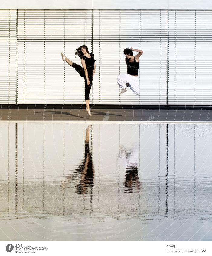 Modern Dance meets Hip-Hop III Mensch Jugendliche feminin Sport springen Erwachsene Tanzen einzigartig Körperhaltung Fitness 18-30 Jahre trendy Sport-Training