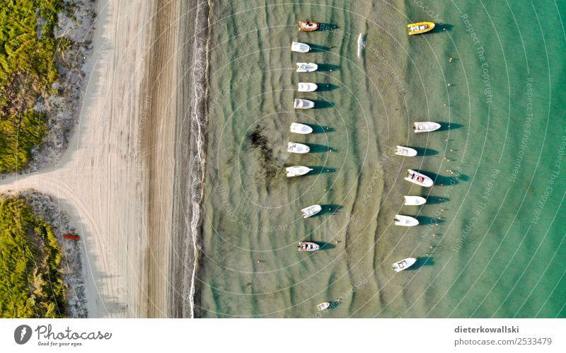 Boote Freizeit & Hobby Ferien & Urlaub & Reisen Sommer Sommerurlaub Schifffahrt Bootsfahrt Sportboot Motorboot Erholung schön Lebensfreude Wasserfahrzeug Strand