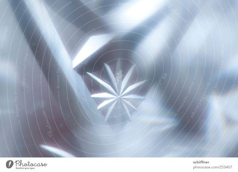 Klar Star Glas kalt Stern Kristallstrukturen Stern (Symbol) Weihnachten & Advent Weihnachtsstern Ecke Schwache Tiefenschärfe Weihnachtsdekoration