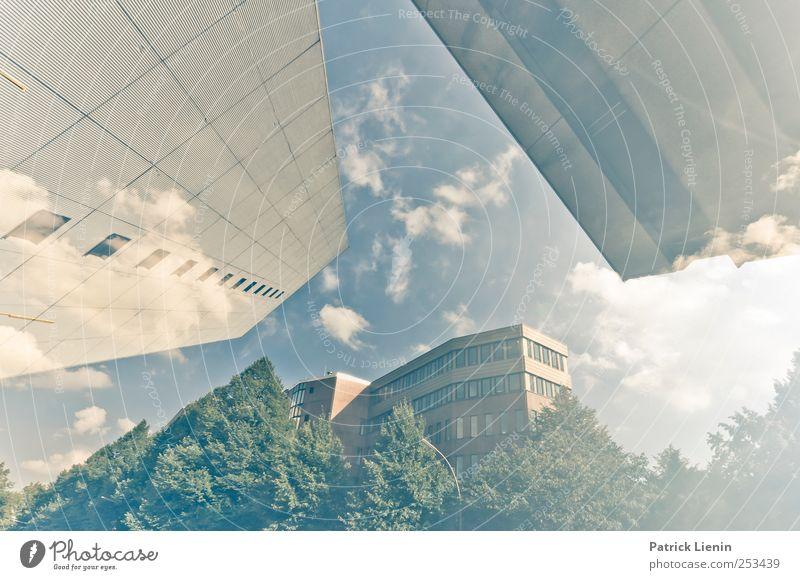 Hi-Speed Soul Umwelt Himmel Stadt Hochhaus Bankgebäude Bauwerk Gebäude Architektur elegant groß hoch schön bizarr chaotisch Energie entdecken Handel