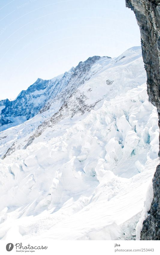 Eismeer Natur Wasser alt weiß Winter kalt Leben Herbst Schnee Berge u. Gebirge Landschaft warten Felsen Abenteuer Tourismus