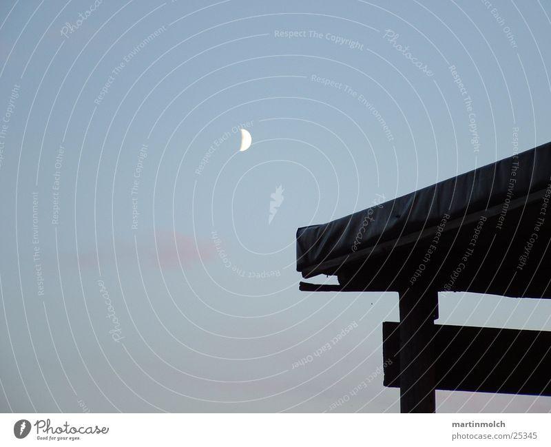 Mond - Himmel - Hütte