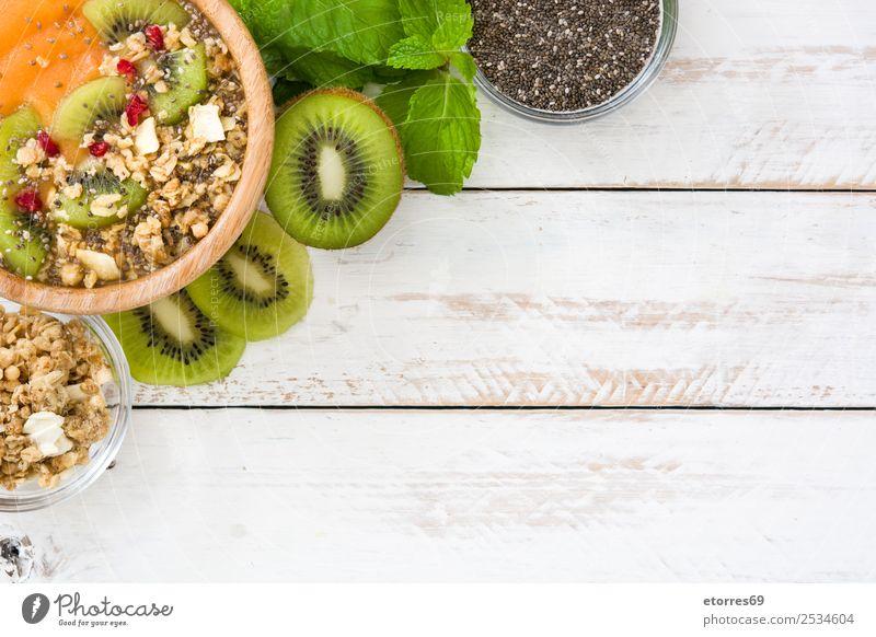 Gesunder Smoothie Lebensmittel Joghurt Frucht Dessert Ernährung Frühstück Bioprodukte Vegetarische Ernährung Schalen & Schüsseln Gesundheit Gesunde Ernährung
