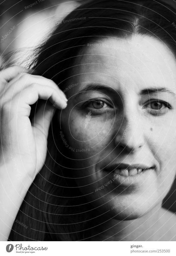 Die Jala [CHAMANSÜLZ 2011] Frau Mensch Jugendliche Hand schön Gesicht Auge feminin Erwachsene Glück natürlich authentisch leuchten Zähne Lippen