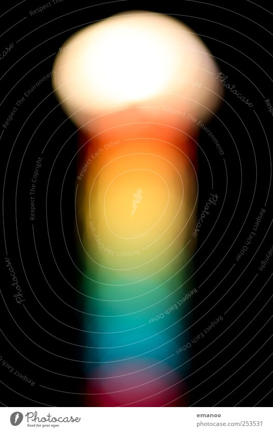 rainbow lighthouse Freude Nachtleben Entertainment ausgehen Feste & Feiern Karneval Jahrmarkt Technik & Technologie Energiewirtschaft Kunst Ausstellung